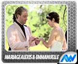 Mariage - Alexis et Emmanuelle